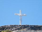 Cross in the Lady of Lourdes Grotto, Flatrock