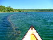 Sunken Ship Lake Superior