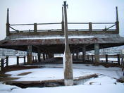 Winter ON the Old Crystal Beach Pier