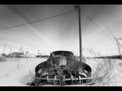 Old car in Melville Saskatchewan