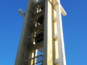 Church Christ-Roi's bell tower in Moncton NB
