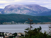 Cros Morne mountain across Bonne Bay
