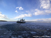 Amherst Island Ferry in Winter