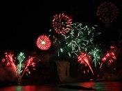 Montmorency Falls Quebec Fireworks Show