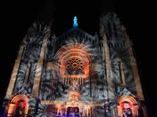 Ste. Anne de Beaupre Basilica light show