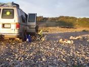 Beach camping in NL