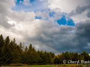 Stormy Rainbow Sky