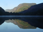 Water Stillness - Morning Light over Willemar Lake - Vancouver Island, BC
