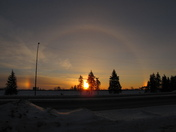 Sunrise sundogs Dec 31 10