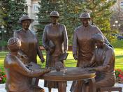 Nellie McClung and 'famous five' Winnipeg MB legislature