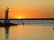 Erieau sunrise, longest day of the year