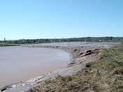 The mighty Peticodiac River in Moncton NB