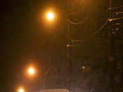 Winter Night/Hespeler Ont.