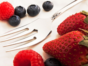 Fork and Berries