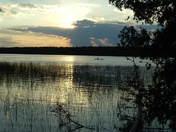 Cypres Lake @ Sunset