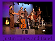 Canadian Singer/Songwriter Justin Hines and his Band.