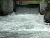 Spill off at Davis Lock