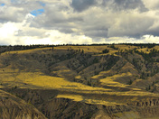 view of the chilcotin grasslands
