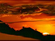 Desert Sunset Fantasy