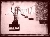 Old school chair lift...Nelson, BC