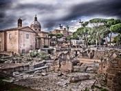 Rome, creative effect