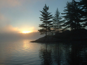 Dawn in Algonquin
