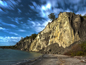 Scarborough Bluffs using HDR photo processing