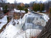 Webster's Falls winter