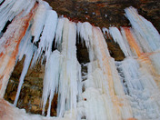 Icicles of Tiffany Falls