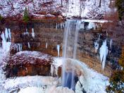 Tews Falls in Winter