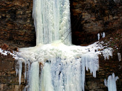 Baby Websters Falls frozen over