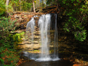Hilton Falls within the Hilton Falls conservation area