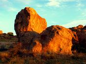 Sunrise, City of Rocks New Mexico