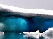Blue Sea Arctic Ice