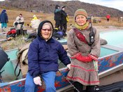 An Elder in Bay Chimo, Nunavut