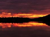 Sunset at Sand Lake, Westport, ON
