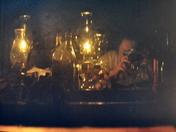 Surprise Self Photo with Lanterns