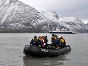 A shore landing in the Auyuittuq National Park