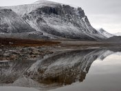 Reflections in Auyuittuq National Park