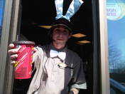 An Easter Drive-Thru Delivery!