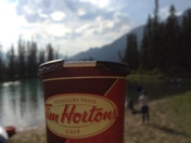 You've always got time for a Timmies - especially  on vacation