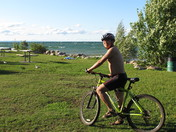 ride a bicycle in Brockville ON