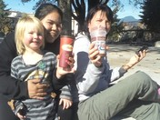 love sunday tims at the park with good friends