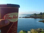 morning tim horton coffee bliss