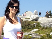 A stop just before Peggy's Cove in Halifax, N.S >> Swissair Flight 111 Memorial