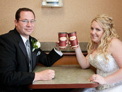 A wedding day coffee
