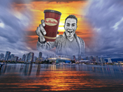 No one LOVES Tim's Coffee more than CHAD!