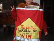 We love our Timmies RRRRoll up the RRRRim!!!!