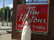 Every Bride needs her Timmies