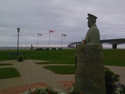 Marine Rail Park beside the Confederation Bridge